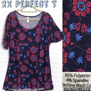 2X Lularoe Perfect Tee- NWT